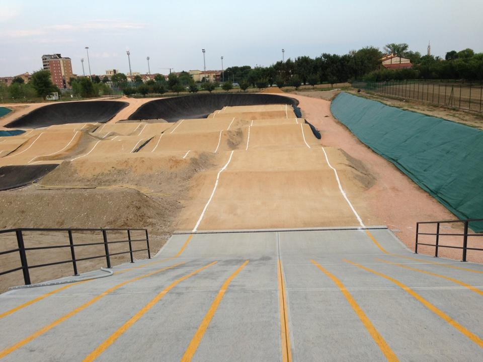 ProTracks a réalisé une piste supercross pour le club de Verone