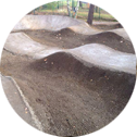 Pump-Track-Bubble