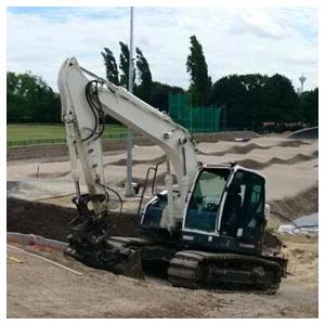 Construction de pistes